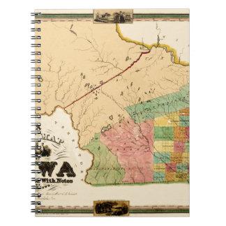 Iowa 1845 notebooks