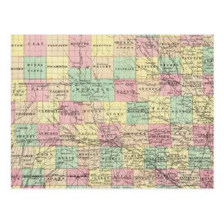 Iowa 3 postcard