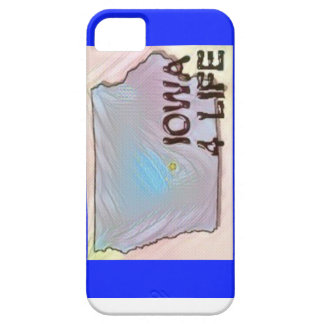 """Iowa 4 Life"" State Map Pride Design iPhone 5 Cover"