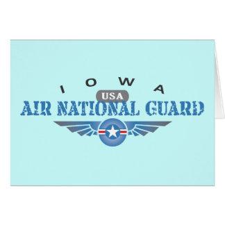 Iowa Air National Guard Greeting Card
