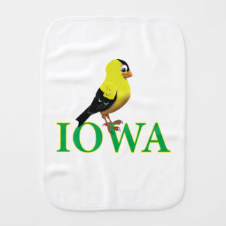 IOWA BURP CLOTH