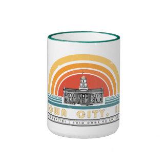 Iowa City - Gold Dome or Go Home Ringer Mug