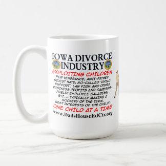 Iowa Divorce Industry. Basic White Mug