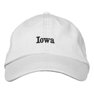 Iowa Embroidered Hat