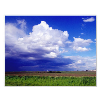 Iowa Farm Land Photo Print