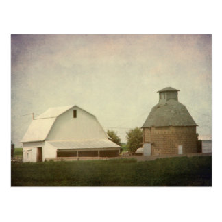 Iowa Farming Postcard