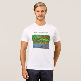 Iowa Fishing Farming Christian Scene T-Shirt