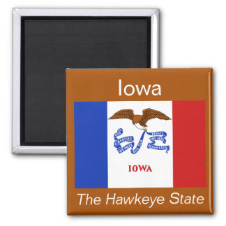 Iowa Flag Magnet