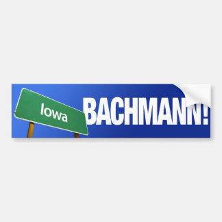 Iowa for Michele Bachmann Bumper Sticker