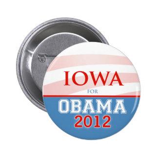 IOWA for Obama 2012 Pin