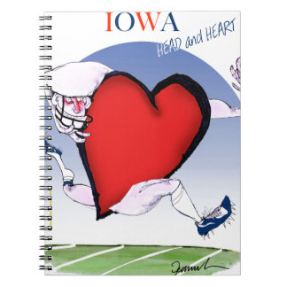 iowa head heart, tony fernandes notebooks