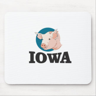 iowa hogs mouse pad