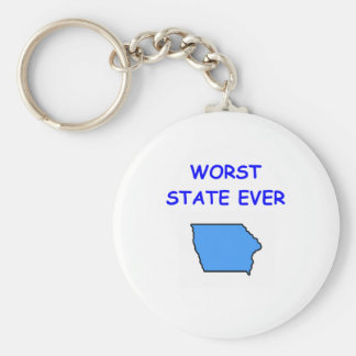 IOWA KEY RING