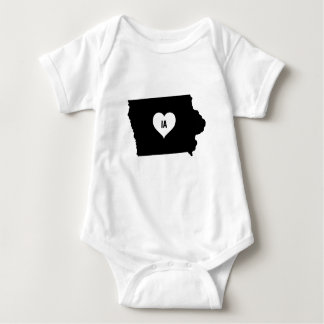Iowa Love Baby Bodysuit