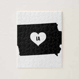 Iowa Love Jigsaw Puzzle