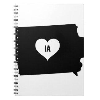 Iowa Love Notebook