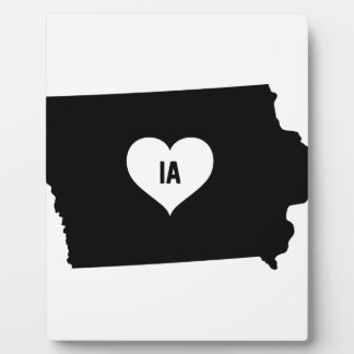 Iowa Love Plaque