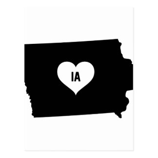 Iowa Love Postcard