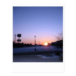 Iowa Morning Postcard