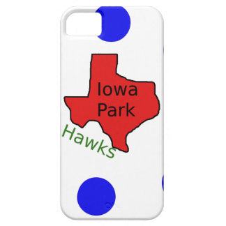 Iowa Park, Texas Design (Hawks Text Included) Case For The iPhone 5