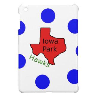 Iowa Park, Texas Design (Hawks Text Included) iPad Mini Cases
