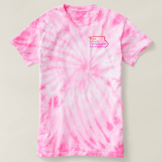 Iowa School Psychology Tie-Dye Tee Shirt