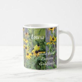 Iowa state bird Eastern Goldfinch Coffee Mug