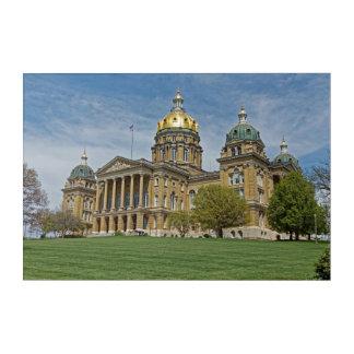 Iowa State Capitol Building Acrylic Print