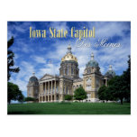 Iowa State Capitol in Des Moines Postcard