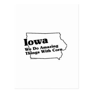 Iowa State Slogan Postcard