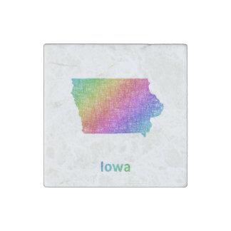 Iowa Stone Magnet