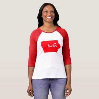 Iowa Teacher Tshirt (Red)