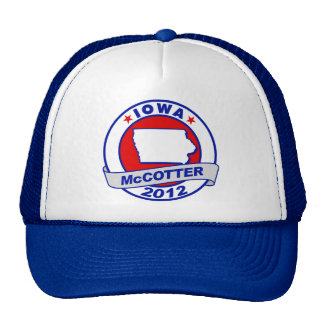 Iowa Thad McCotter Mesh Hat