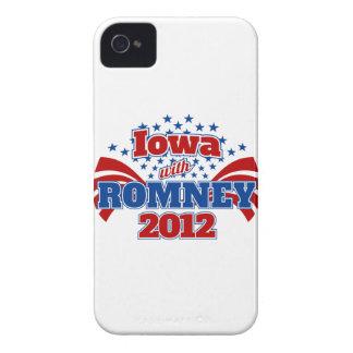 Iowa with Romney 2012 iPhone 4 Case