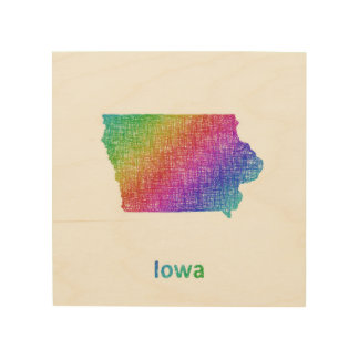 Iowa Wood Prints