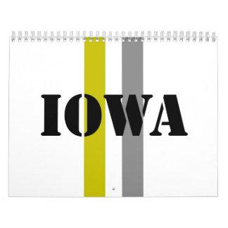 Iowa Wall Calendar