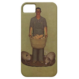 Iowa's Product by Grant Wood iPhone 5 Cover