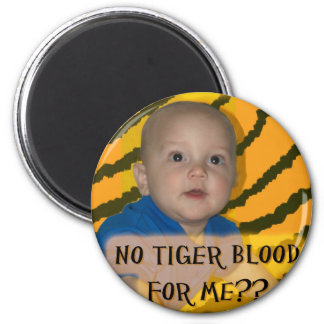 IP 5 tiger blood Fridge Magnet