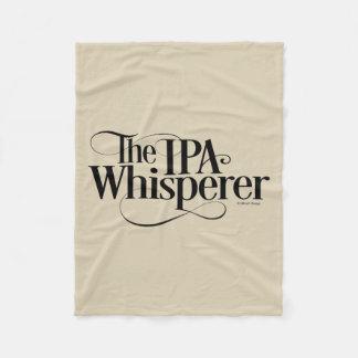 IPA Whisperer Fleece Blanket