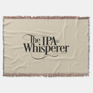 IPA Whisperer Throw Blanket