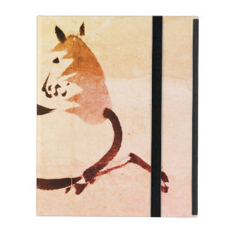 iPad 2/3/4 Case with No Kickstand Chinese Horse