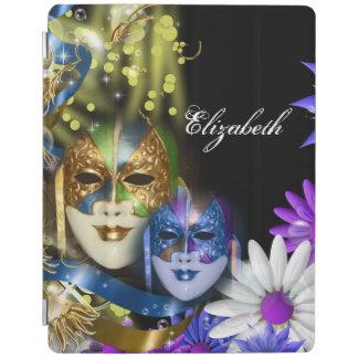 iPad 2/3/4 Venetian masquerade quinceanera masks iPad Cover