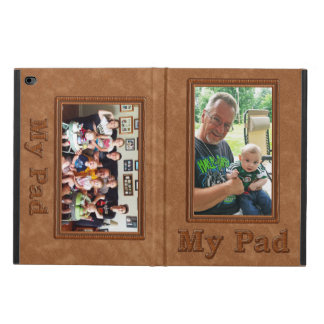 iPad Air 2 Photo Case with Your TWO Pictures