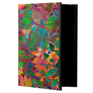iPad Air Case Floral Abstract Stained Glass
