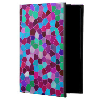 iPad Air Case Mosaic Texture Stained Glass