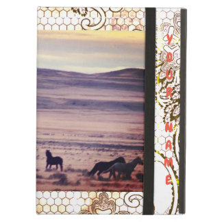 iPad Air Case, PERSONALIZABLE, WILD HORSES OF UTAH Cover For iPad Air