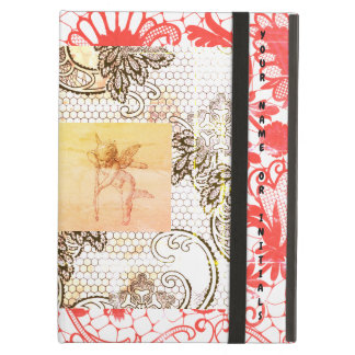iPad Air Case W/ LACE & CUPID PERSONALIZABLE