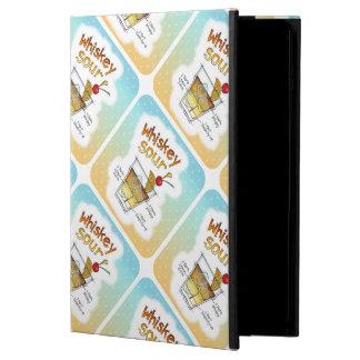 iPAD AIR CASE, WHISKEY SOUR RECIPE COCKTAIL ART Case For iPad Air