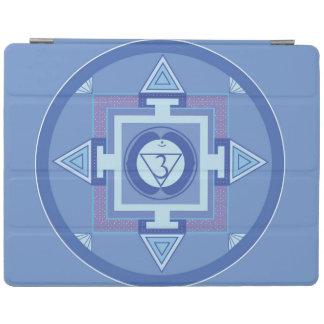 iPad air cover Smart Mandala Blue