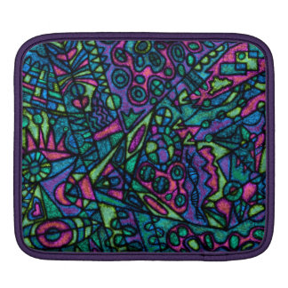 Ipad air tablet case sleeve cover abstract art